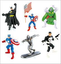 Officiel Bullyland Comansi Marvel DC Comics Figurines Jouet Dessus Du Gâteau