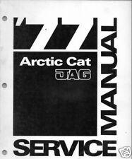 1977  ARCTIC CAT JAG  SNOWMOBILE  SERVICE  MANUAL NEW