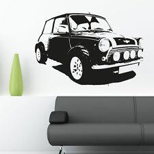 Mini Cooper Coche Clásico Vinilo Adhesivo Adhesivo mural Garaje C11
