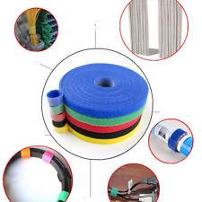 1cm*5m De Cables De Alimentación Correa De Nylon Marcador Lazos De Cable