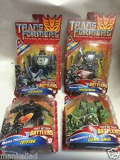 Transformers Revenge of the Fallen battlers rapide action Megatron jetfire