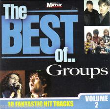 V/A - The Best Of Groups (UK 15 Tk CD Album) (Sunday Mirror)