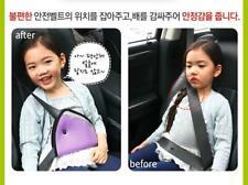 Car Seat Belt Safety Belt Pad Seatbelt Adjuster Covers for Kids Toddler Child YZ
