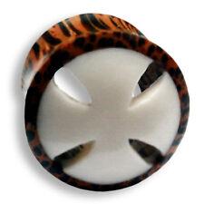 6mm - 26mm HOLZ Knochen Wood Bone Flesh Tunnel Tube Ear Plug Ohr Piercing 176