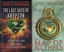 """KEVIN J. ANDERSON """"2 PAPERBACK LOT #4"""" 2008-11 harper orbit"""
