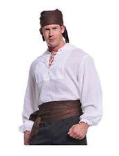 Underwraps Pirate Shirt Cream Light Nautical Adult Mens Halloween Costume 29300