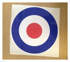 RAF Blanco Rojo Blanco y azul - Adhesivo Impreso Tamaño a elegir