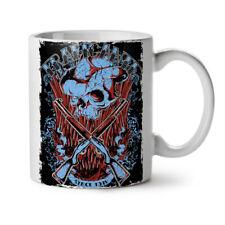 Traficante Cowboy Gun Skull Arms NEW White Tea Coffee Mug 11 oz | Wellcoda