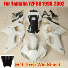 Unpainted ABS Fairing Bodywork For Yamaha YZF R6 YZF-R6 98-02 2005 06-07 08-16