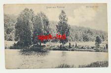 AK / Gruss aus Pollnow in Pommern, ...Am blauen See....  gel. etwa 1900
