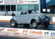 #10 NOSTALGIA GASSER LADDER BARS BLUEPRINTS coupe rat rod hot rod drag car plans