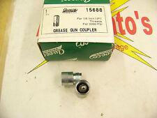 "Au-Ve-Co 15688 Grease Gun Coupler, 1/8"" Npt threads, for 3000 Psi"