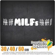 MILFs chf0023  in 3 Größen JDM  Heckscheibe Aufkleber