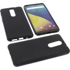 Tasche für Wiko View XL Handytasche Schutz Hülle TPU Gummi Case Bumper