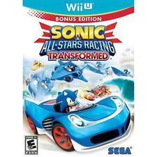 Sonic & All-Stars Racing Transformed NINTENDO Select  Wii-U New