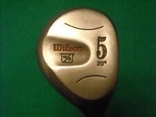 WILSON STAFF ULTRA 5 WOOD 20*-STEEL R FLEX - VERY NICE!