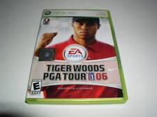 Xbox 360, Tiger Woods PGA Tour 06 Video Game, w/Manual!