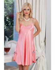 Women Spaghetti Straps Satin Slip Dress   European Products