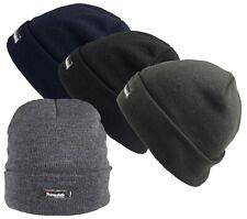 Fein gestrickte Mütze mit Thinsulate Futter 7 Farben Wintermütze Warme Mütze