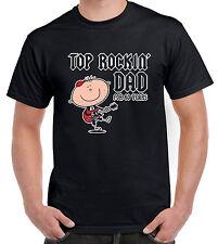 Top Rockin 'PAPA' per 60 anni 60TH Compleanno T-Shirt Uomo-Regalo 60
