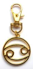 Regalo de Navidad oro FirstClass Signo Zodíaco Llavero-con Bolsa De Regalo Gratis