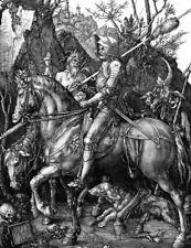 "ALBRECHT DURER ""Knight, Death And Devil"" engraving ART various SIZES, BRAND NEW"