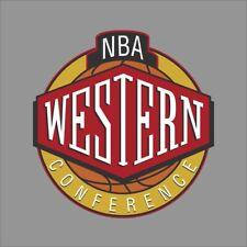 Western Conference NBA Logo Vinyl Decal Sticker Car Window Wall Cornhole