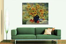 3D Gemälde blumen Tisch 523 Fototapeten Wandbild BildTapete AJSTORE DE Lemon
