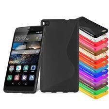 Silikon Schutz für HUAWEI Handys TPU Hülle Bumper S-LINE Handy tasche case cover