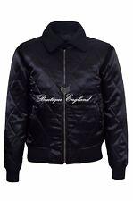 """""""unidad"""" Plata Scorpion Para Hombre negro acolchado cuero chaqueta Ryan Gosling Película"""