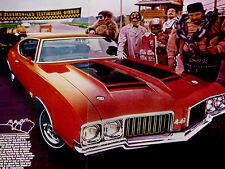 1970 OLDSMOBILE 442 W25 ORIGINAL DR.OLDS AD -455 v8 engine/350/400/hood/door/W30