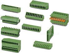 1 pc. Phoenix Klemmen Anreihklemmen Leiterplattenklemmen Printmontage  auswählen