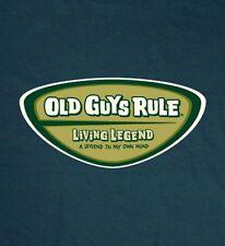 OLD GUYS RULE LIVING LEGEND  A LEGEND IN MY OWN MIND BEACH T-SHIRT  M,L,XL,2X,3X
