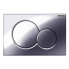 Geberit Drückerplatte Platte SIGMA 01 für WC passend für UP300/UP320 CHROM GLANZ