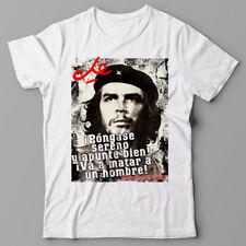 CHE GUEVARA T Shirt - LAST WORDS - Cuba Revolution Fidel Communist Tee