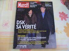 PARIS MATCH N°3263 1ER DECEMBRE 2011 DSK - LES ANNEES CHIRAC - MENUS REVEILLONS