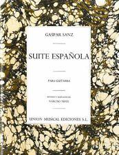 Suite Espanola - Guitare - Recueil