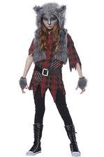 Scary Werewolf Girl Child Costume