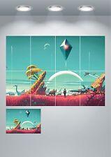 Nessun uomo ha SKY Grande Stampa Wall Art Poster