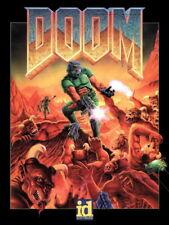 DOOM Original Video Game Retro Art Giant Wall Print POSTER