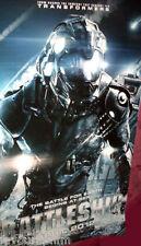 Cinema Banner: BATTLESHIP 2012 (Alien) Liam Neeson Rihanna Taylor Kitsch