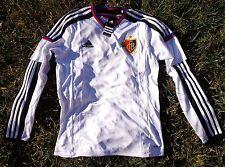 FC BASEL Herren Men Trikot Jersey Maglia ADIDAS Größe S-L weiss NEU 1893 Schweiz