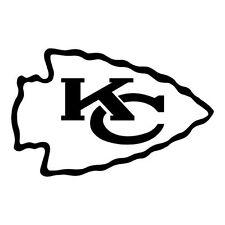 Kansas City Chiefs NFL Color Die-Cut Decal Car Sticker