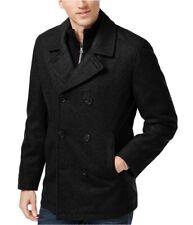 I-N-C Mens Double Breasted Pea Coat