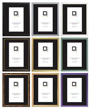 Image Cadres Photo ajusté Avec Verre Choix parmi 11 Couleurs Par Frame Company