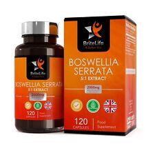Extrait De Encens Naturel Boswellia Serrata 5:1 | 2000mg | Haute Concentration
