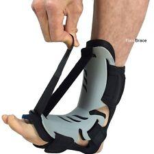AFO Tendonitis Flexibrace Adjustable Dorsal Plantar Fasciitis Night Splint Brace