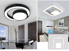 Modern Square Ring Round Ceiling Light Pendant Lamp Dinner Room Kitchen Lighting