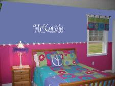 GIRLS NAME DECAL WALL ART DECAL BEDROOM VINYL DECOR STICKER WORD