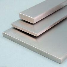 Flachstahl geschliffen Edelstahl Flacheisen V2A Flachmaterial VA bis 2000 mm
